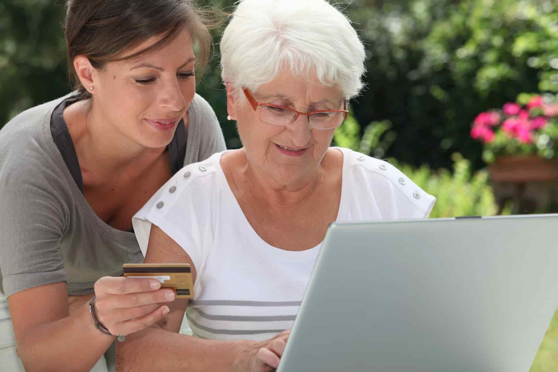 Women Paying Bills Online